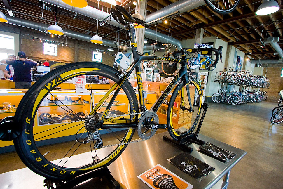 Lance Armstrong's Bike from the Tour of California